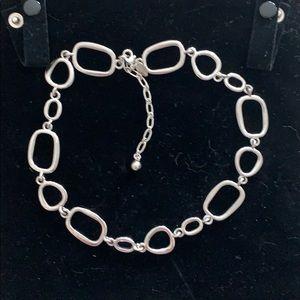 Lia Sophia silver link necklace